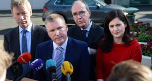 Michael McGrath: In danger of  being offered a Fine Gael membership form.  Photograph: Dara Mac Donaill / The Irish Times