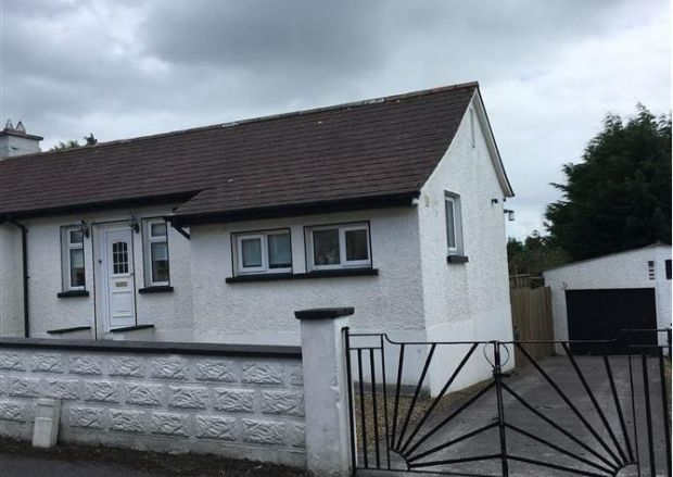 Gallagher Auctioneers Ltd is seeking €148,000 for this two-bedroom semi-detached house at Cortober Hill, Carrick-on-Shannon, Co Leitrim