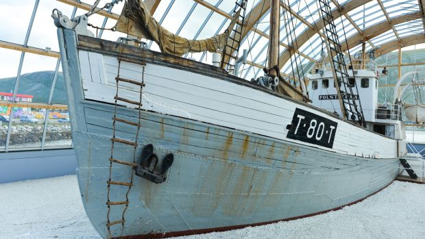 Tromso's most famous seal-hunting boat, the MS Polstjerna, brought back almost dead 100,000 seals over 33 seasons.
