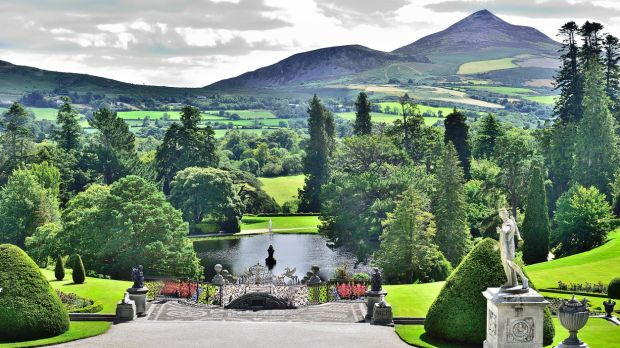 Powerscourt Estate located in Enniskerry, County Wicklow, Ireland,