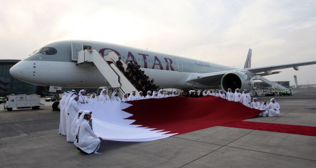 Qatar first to take delivery of new Airbus A350-1000