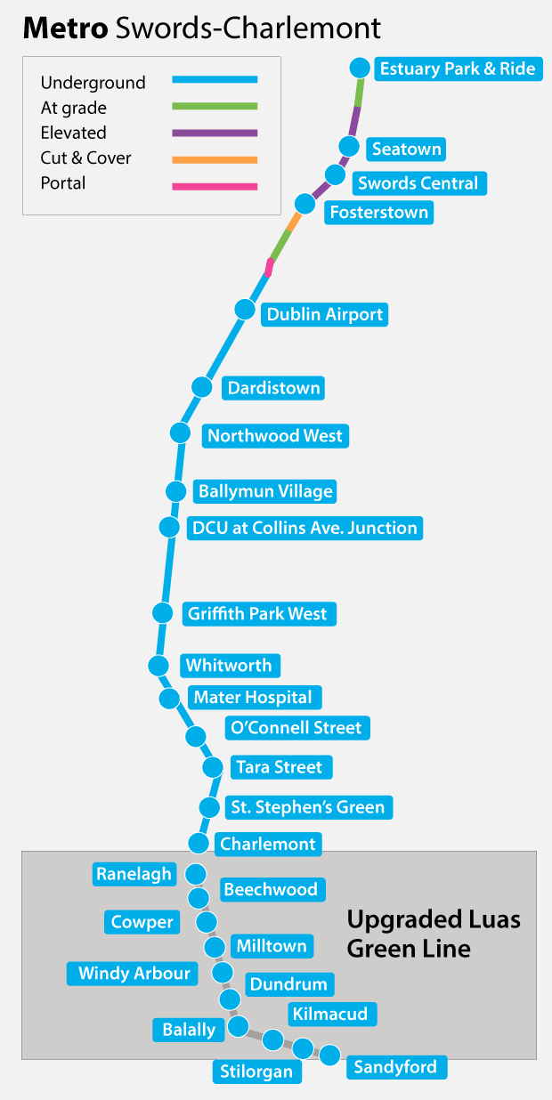 How To Outline Story Like Subway Map.Dublin Metro Stops Revealed Maps Show Location Of Stations