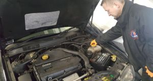 Bray-based mechanic Ian Haskins set up Saab Wisdom, a Saab maintenance and repair specialist.