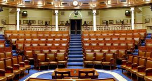 "The Dáil chamber. ""It's difficult to fault the National Development Plan for ambition. So wouldn't it be nice if that ambition ran to improving how our government works for us?"" Photograph: Michael Quinn"