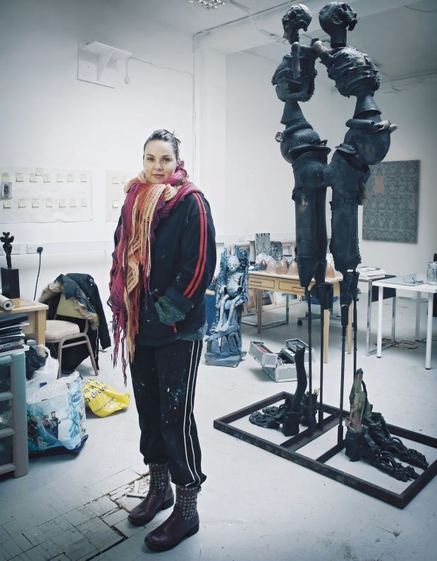 """What Beta is doing with her photographs is saying, 'look at all the things that you can be',"" says sculptor Úna Kavanagh. Photograph: Beta Bajgart"