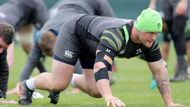 Andrew Porter will replace the injured Tadhg Furlong. Photograph: Dan Sheridan/Inpho