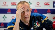 "Italy head  Conor O'Shea:  ""I hope we can offer ourselves and our fans a performance to be proud of."" Photograph:  Morgan Treacy/Inpho"