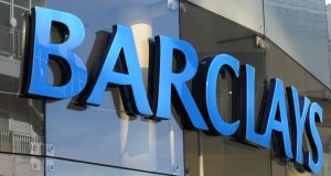Barclays: in June 2017 women made up 47 per cent of all staff but only 15 per cent of managing directors. Photograph: Joe Giddens/PA Wire