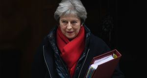 British prime minister Theresa May and her senior ministers met at Chequers in an attempt to agree a common position on Britain's future relationship with the EU. Photograph: PA