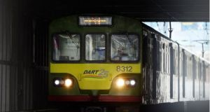 There are significant delays on the northern Dart and Commuter lines. File photograph: Bryan O'Brien
