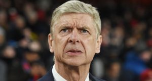 Arsenal manager Arsene Wenger knows the Europa League is probably his team's best chance of Champions League qualification. Photograph: PA
