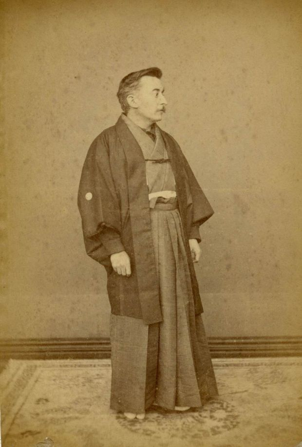Lafcadio Hearn in Japan, 1891