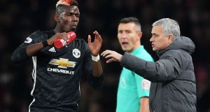 Mourinho just hasn't been able to coach Paul Pogba  into the type of player he wants, nor has he found a consistent way of organising the team to maximise his talents.  Photograph:  Laurence Griffiths/Getty Images