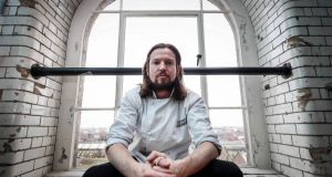 Ian Doyle, head chef of Oaxen Krog in Stockholm, is designing an Irish food and beer menu which will be served at the Guinness Storehouse during the St Patrick's Festival. Photograph: Andres Poveda