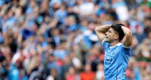 Bernard Brogan has had an operation following his ACL injury. Photograph: Tommy Dickson/Inpho