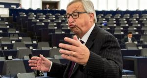 "President of the European Commission Jean-Claude Juncker:  the budget discussion was ""less conflictual"" than expected. Photograph: Patrick Seeger"