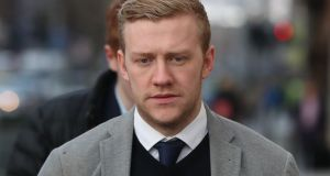 Ireland and Ulster rugby player Stuart Olding said the woman did not say anything but held out her hand which he took as an invitation. Photograph:  Niall Carson/PA Wire