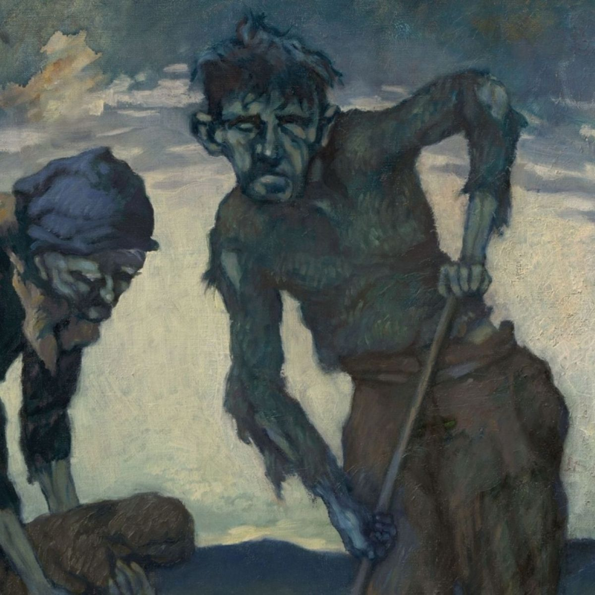 The Famine Artists And The Nightmare Of Our Crushed And