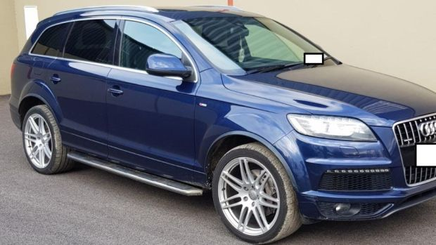 An Audi Q7 was among five vehicles were seized in Cab raids on Friday.
