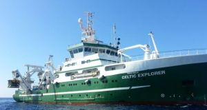RV Celtic Voyrager, sister ship of the Celtic Explorer (pictured), will participate in the research.
