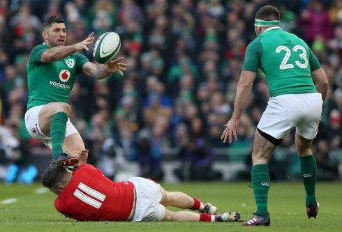 <b>15. Rob Kearney 7</b> Beaten in the air by Dan Biggar but fingertips caught George North&#39;s coat-tails at a crucial moment while the sliced drop goal, instead of an inclusive counter attack is what makes him who he is, a leader.  Photograph: PA
