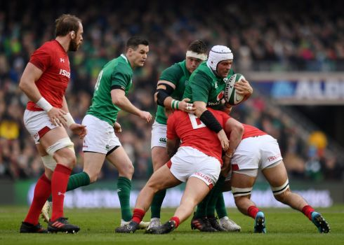 <b>2. Rory Best (Capt) 6</b> Undroppable, because of his leadership and usual standards, but the latest injury to Niall Scannell ends any hint of a debate. Off colour here and could have been pulled for Sean Cronin earlier.  Photograph: Reuters