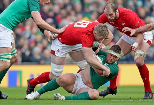 <b>3. Andrew Porter 7</b> Any prior concerns were shelved or certainly postponed as the rising rival for Tadhg Furlong refused to be exposed in the scrums. The 20 minute option with this man in the final two matches gives Ireland a real chance at the Championship.  Photograph: Inpho