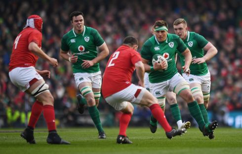 <b>8. CJ Stander 7</b> Freakish work rate to notch up 21 carries for 40 metres travelled but not a single defender beaten or offload to supporting colleague. Still, vital to the way Ireland&#39;s direct approach.   Photograph: Reuters