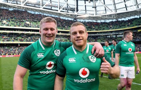 <b>Replacements 6</b> Not a major hindrance but hardly a bench to turn a tight game at Twickenham. Ireland cannot afford another raft of broken bodies if the Championship, never mind the slam, is to be secured.   Photograph: Inpho