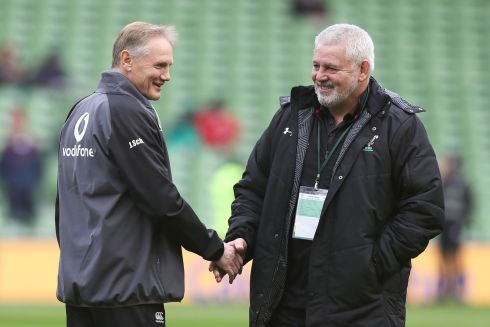 "<b>Head coach: Joe Schmidt 7</b> Good week's work, defended his attacking strategy as his team produced a performance that compelled a laughing apology from Warren Gatland ""about what I said two years ago – Ireland are moving in the right direction.""   Photograph: PA"