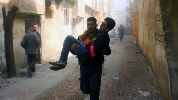 'Three dead' in eastern Ghouta clashes as shaky Syria ceasefire holds