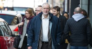 Senior figures in Labour have written to leader Jeremy Corbyn over Brexit. Photograph: Aaron Chown/PA Wire