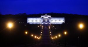 Parliament buildings at Stormont: the parties, people and governments can't continue with the pretence  everything will just fall into place.  Photograph: Clodagh Kilcoyne