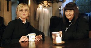 The Vicar of Dibley: Emma Chambers and Dawn French in the BBC comedy