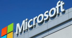 Microsoft: the US government says prosecutors are entitled to data it stores overseas. Photograph: Mike Blake/Reuters