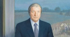 "Political portraits: Peter Dwan's favourite is that of Charles Mr Haughey, which showed ""great presence"""