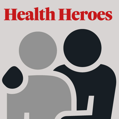 Every week, we will honour someone deserving of the hero tag. If you would like to nominate, go to irishtimes.com/healthheroes