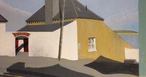 Sile Kelly, 'House in Ballycotton', acrylic (Lavit Gallery)
