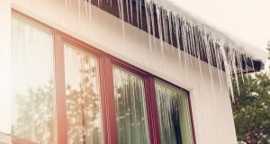 Homeowners should consider taking steps to protect themselves and their property from the big chill. Photograph: iStock