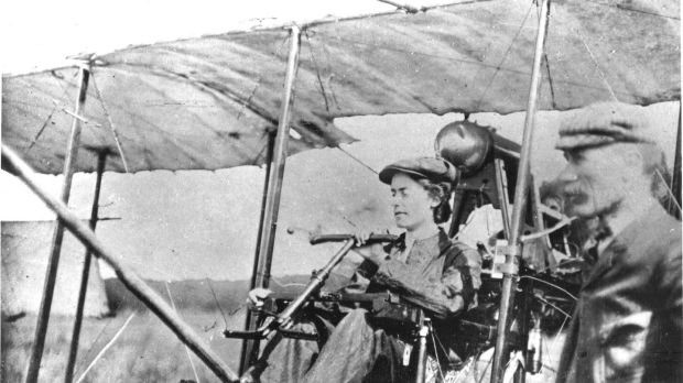 "Lilian Bland: the ""flying feminist"" was the first woman in Ireland to build and fly an aircraft"