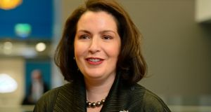 "Francesca McDonagh: In her first set of results as Bank of Ireland group chief executive, Ms McDonagh pointed to a ""strong performance"" in 2017. Photograph:  Cyril Byrne"