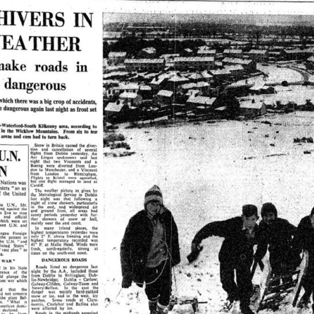 Snowstorms through the centuries: a history of Irish cold snaps
