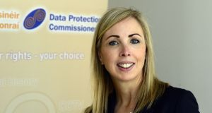 Data Protection Commissioner Helen Dixon said supervision of multinational companies with operations in Ireland continued to be a key priority for her office during 2017. Photograph: Cyril Byrne