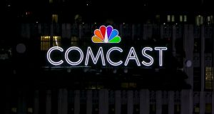 Comcast said it was offering £12.50 (€14.22) per Sky share, significantly more than the £10.75 (€12.23) per share agreed by Fox. Photograph: Brendan McDermid/Reuters