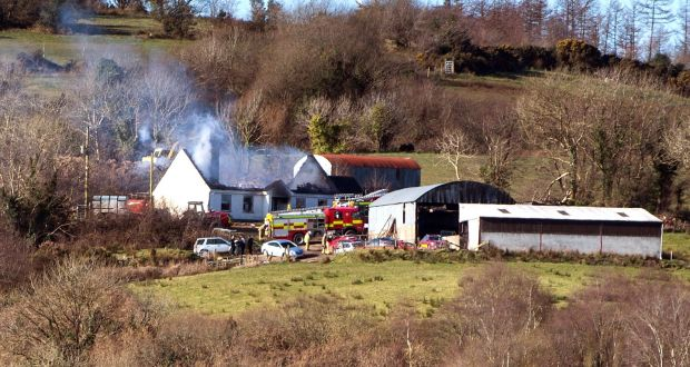 034e936dc93b1 Emergency services attend the scene of a house fire on Molly Road,  Derrylin, Co