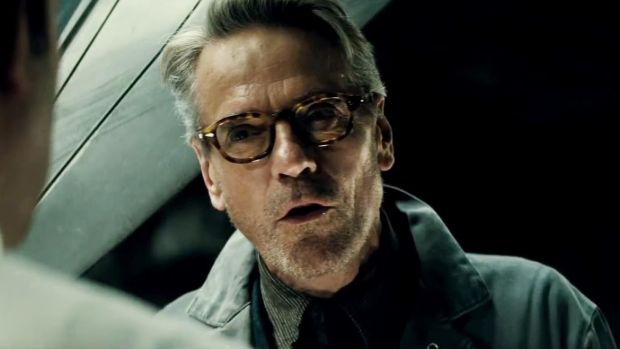 Jeremy Irons in Batman v Superman: Dawn of Justice (2016)