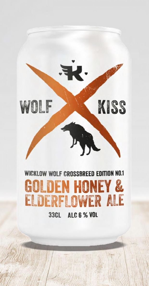 Wolf's Kiss collaboration beer brings a bit of Nordic influence to the Bray brewery