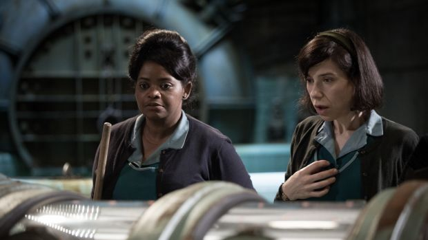 "Octavia Spencer and Sally Hawkins in ""The Shape of Water"""