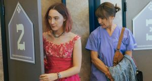 "Saoirse Ronan and Laurie Metcalf in ""Lady Bird"""