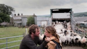 Mark Stanley and Ruth Wilson as squabbling siblings in Dark River